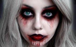 halloween piel maquillaje