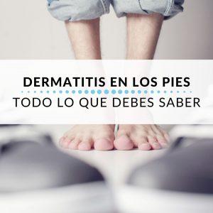 DERMATITIS EN LOS PIES